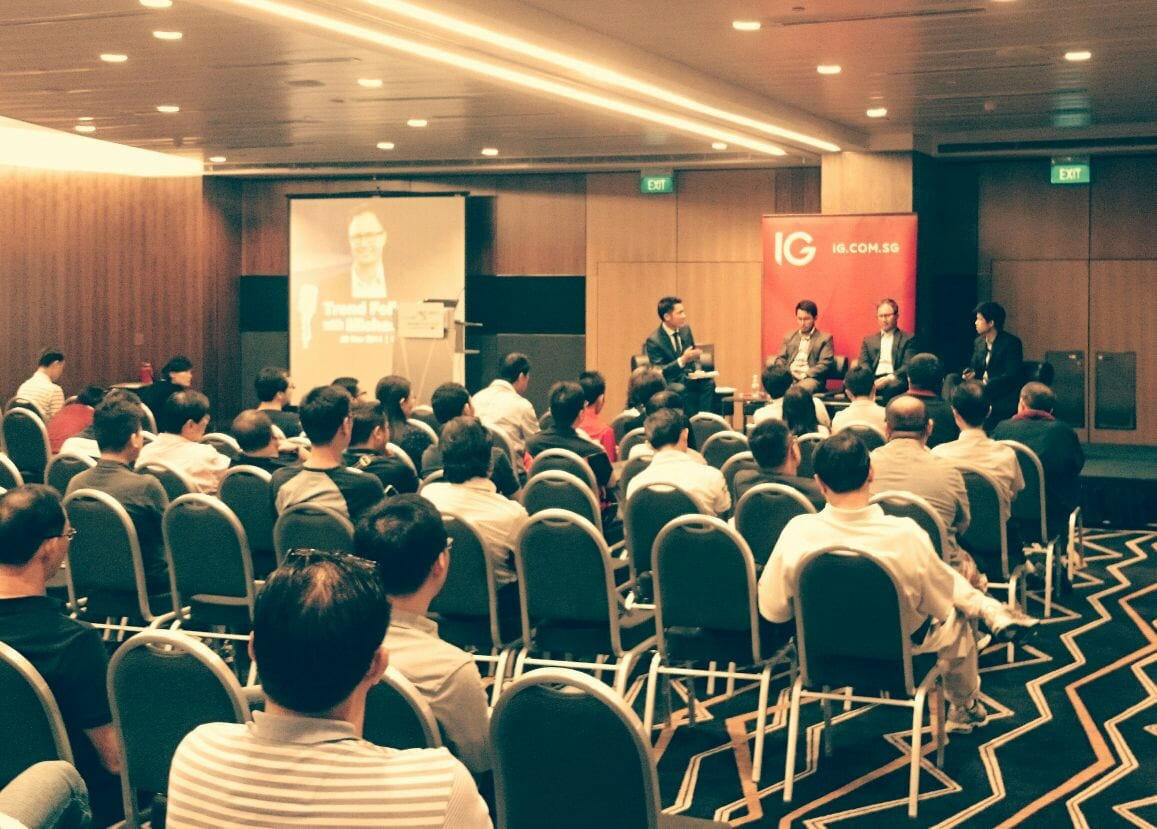 Photo of Trend Following With Michael Covel at Suntec Convention Centre – 29 Nov 2014
