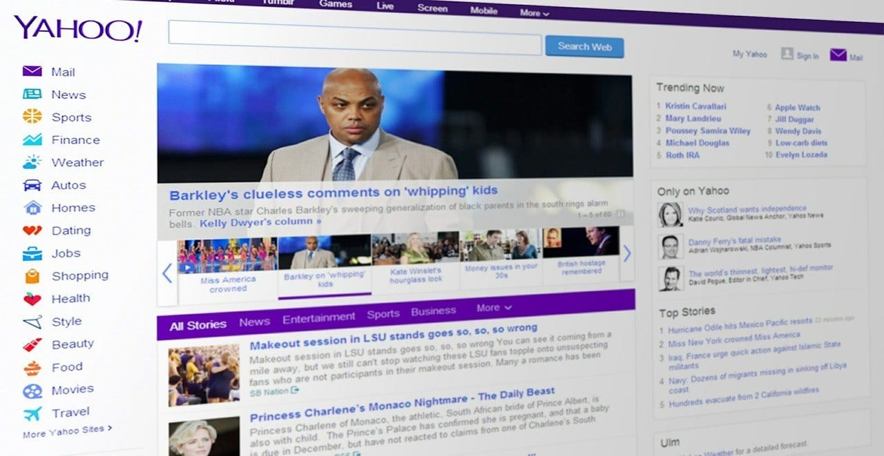 """Photo of The Yahoo """"tell"""": Is the tech stock boom at the top?"""