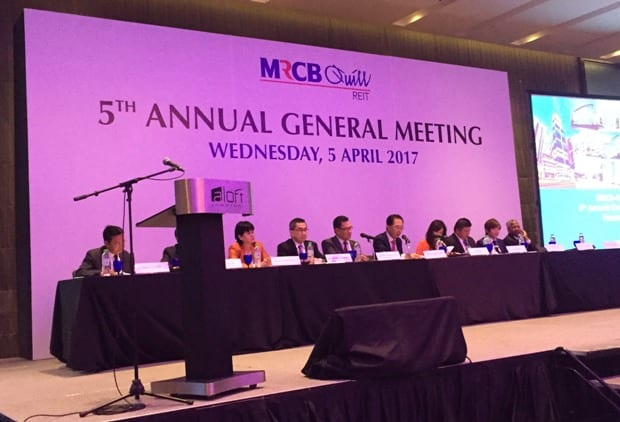 Photo of 11 things I learned from MRCB-Quill REIT's 2017 AGM