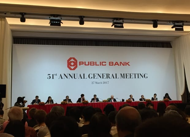 Photo of 9 things I learned from Public Bank's 2017 AGM