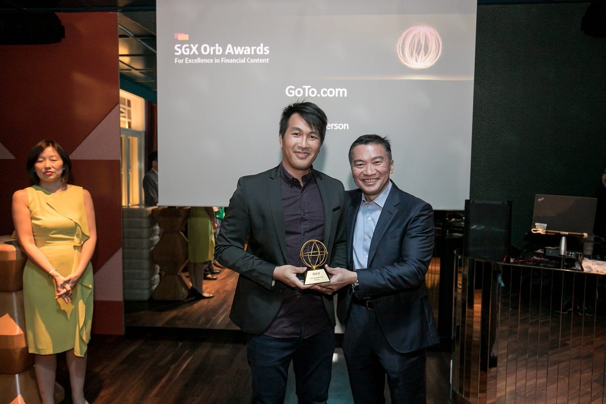 Photo of The Fifth Person wins best independent investment website at SGX Orb Awards