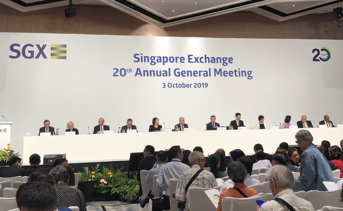 Photo of 6 things I learned from the 2019 SGX AGM